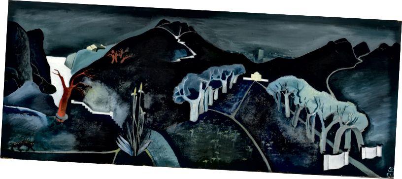 Tove Jansson, 'Əsrarəngiz mənzərə', 1930 | Ateneum İncəsənət Muzeyi. Şəkil: Fin Milli Qalereyası / Hannu Aaltonen