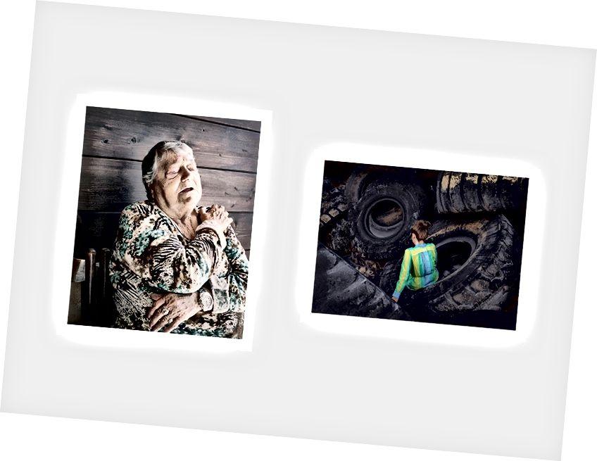 اليسار: جيوفاني كوكو - اليمين: جويا بيسانا