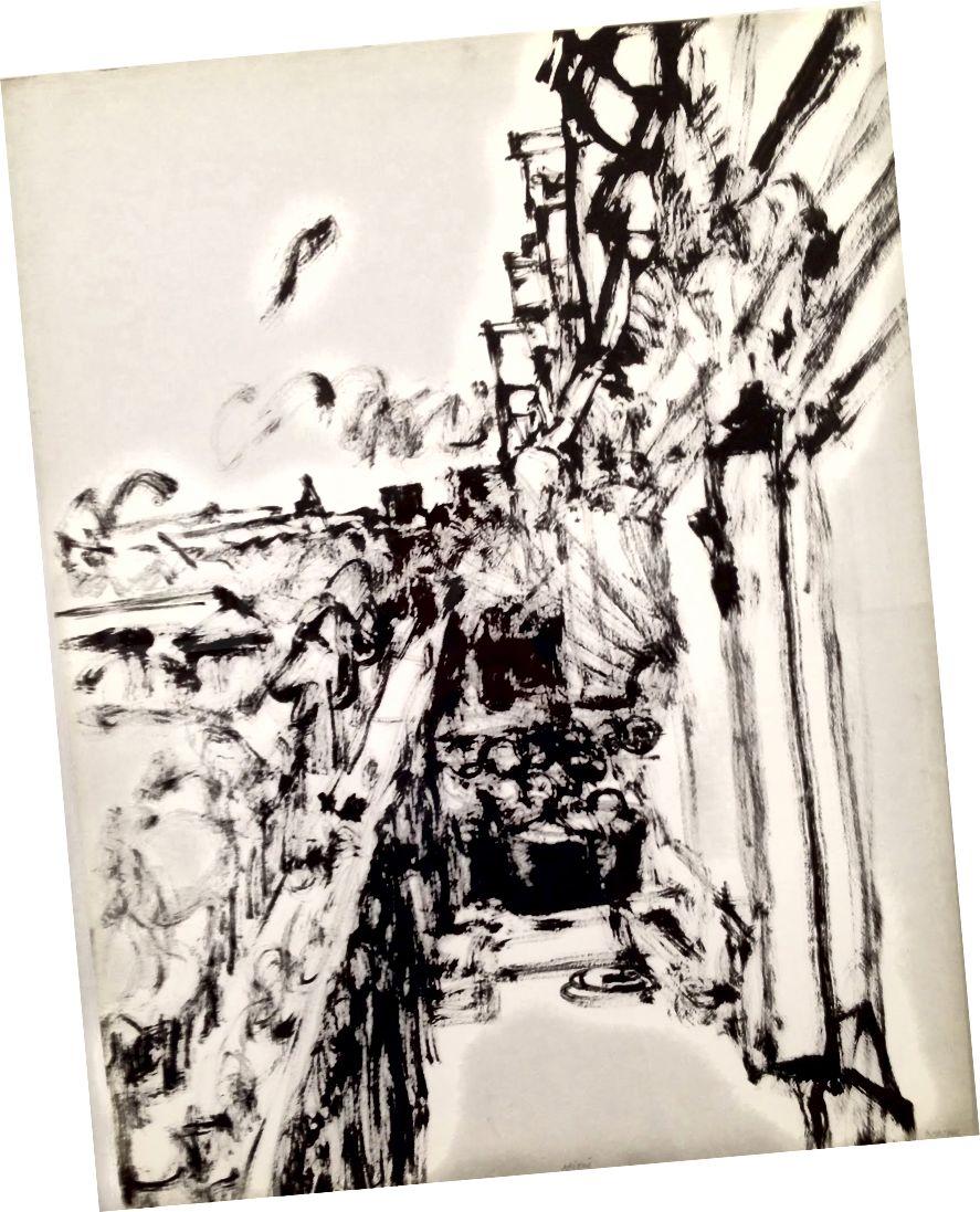 Avenue de Tourville vue depuis le balcon | أفيغدور أريخا 1966 ، ملكية أفيغدور أريخا