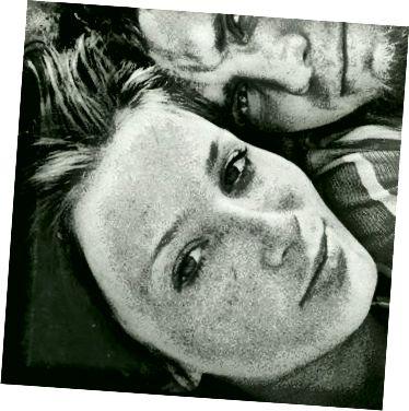 فيتاس لاكوس وزوجته تاتجانا في صورة ذاتية