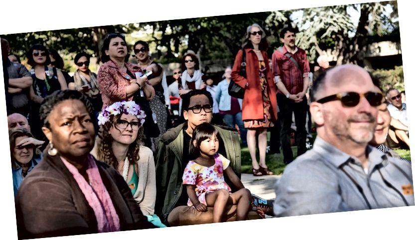 Oaklandovo muzeum kalifornského tichomořského společenství světů Fotografie: Alessandra Mello