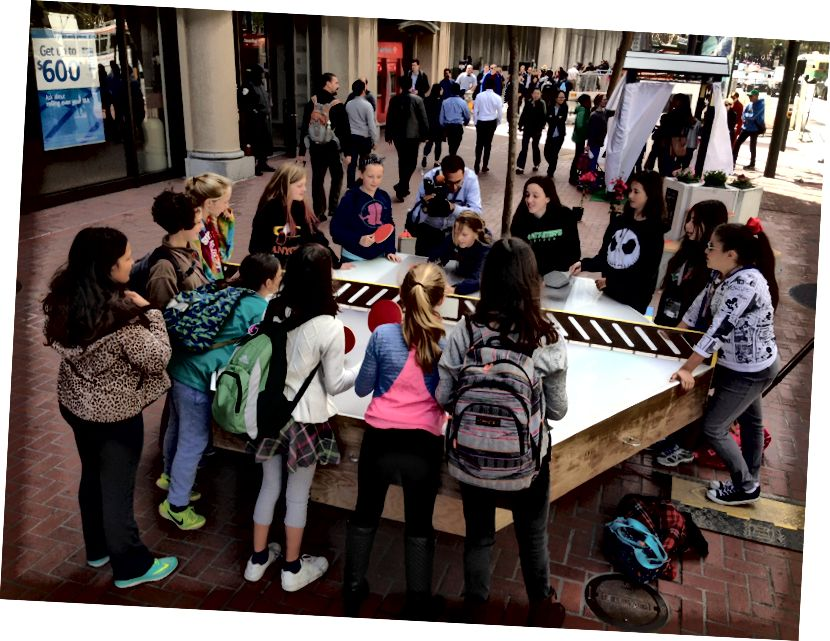 Arena Play, 2015 Market Street Prototyping Festival