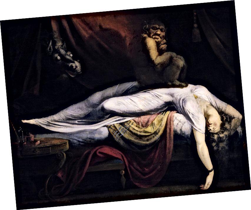 Хенри Фусели, Кошмарът (Wikimedia Commons)