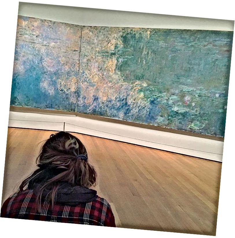 """Překonejte Monetovými """"lekníny"""" - Caro na MoMA, březen 2017"""