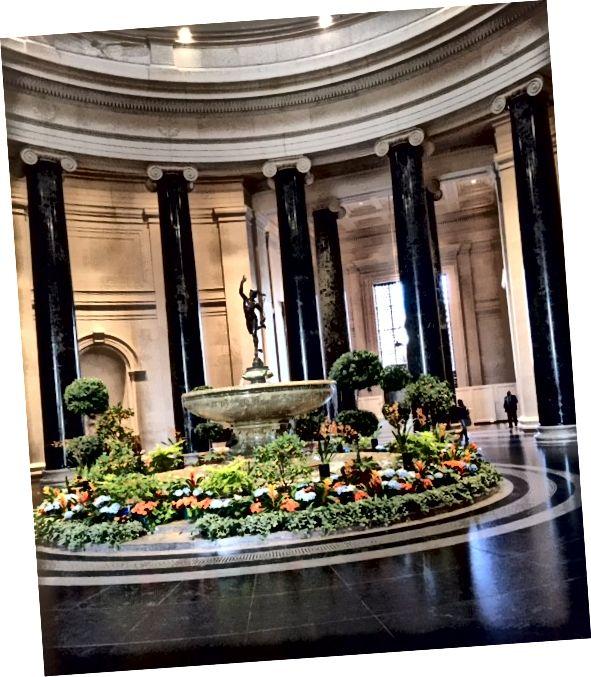 """""""Zásnubní fontána"""" - Národní galerie umění, Washington DC"""