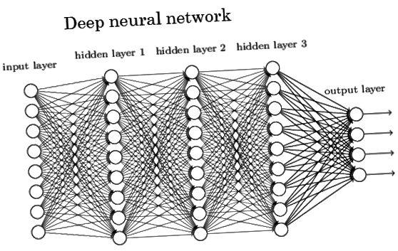 Նյարդային ցանցի սխեմատիկ օրինակ