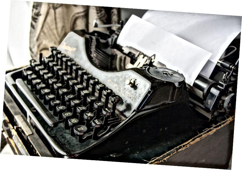 لا تضع عملية الكتابة على قاعدة