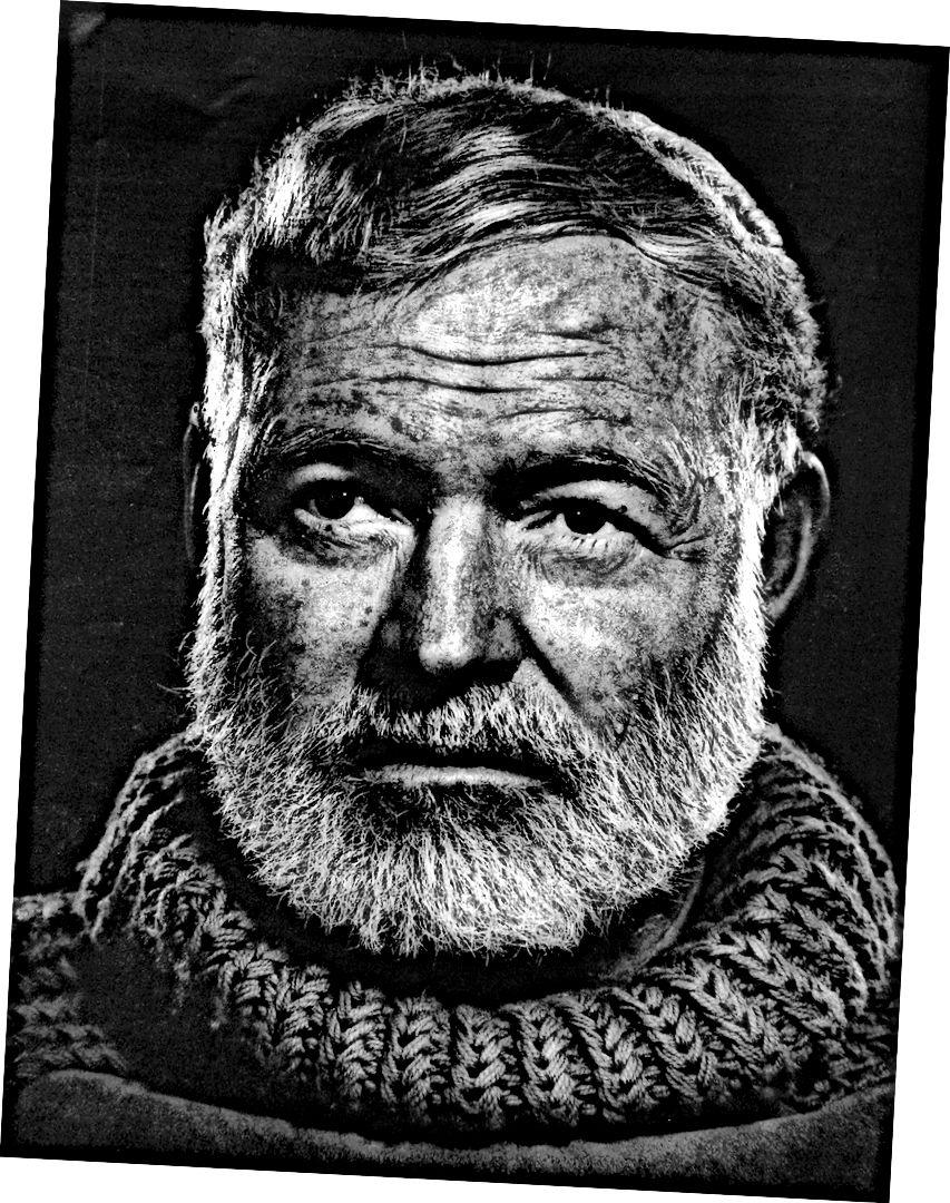 حتى Earnest Hemingway لم يكن يتوهم