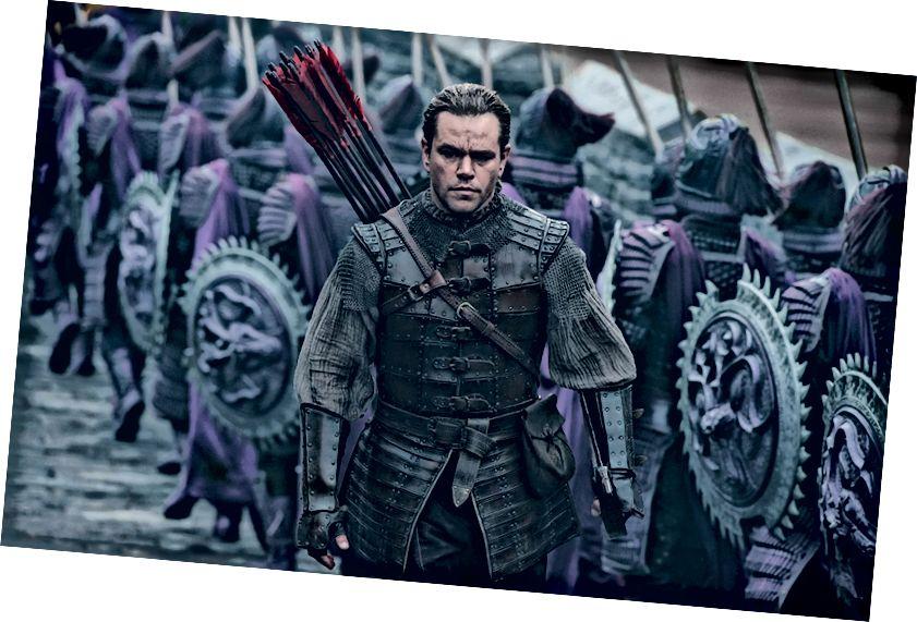 Matt Damon, alter Held Chinas.
