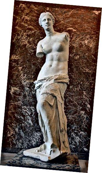 Venus de Milo (muzeum Louvre)