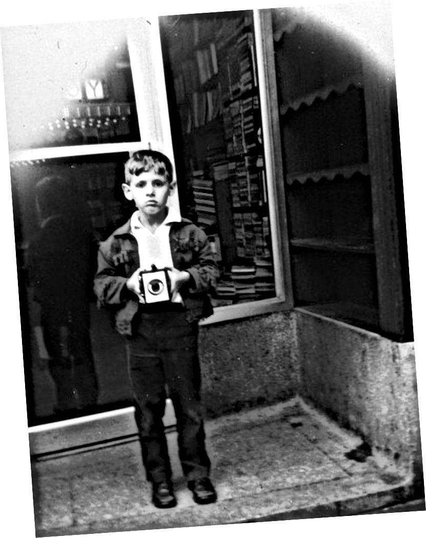 أنا ، حوالي عام 1964. صورة: فرانك روديك