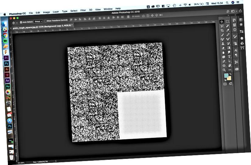 Zde můžete vidět několik těchto hotových obrázků společně bez zjevných švů.