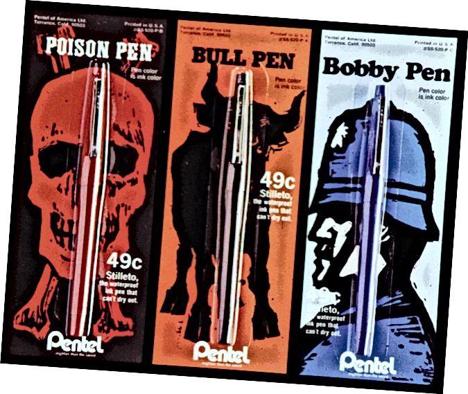 Дизайн на опаковки Pentel