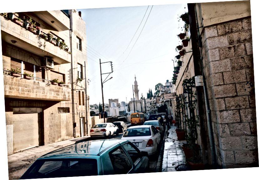 Mestské a obytné oblasti L'weibdeh L'weibdeh, Amman