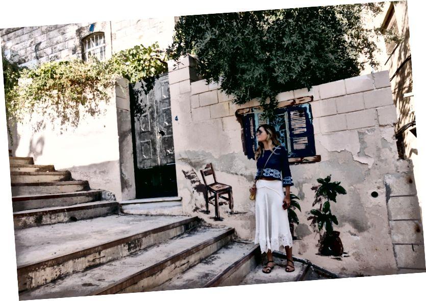 Schody pred štúdiom Tania George Haddad | L'weibdeh, Amman