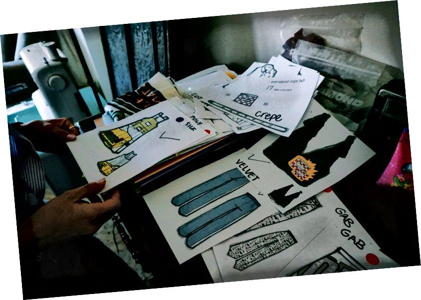 Недостатки мультяшных вышивок Тани стали прекрасными произведениями искусства | Студия Таня Джордж, L'weibdeh