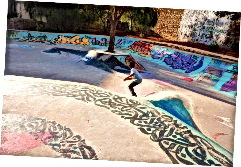 Deti sa stávajú profesionálmi po niekoľkých sedeniach 7Hills Skatepark, L'weibdeh