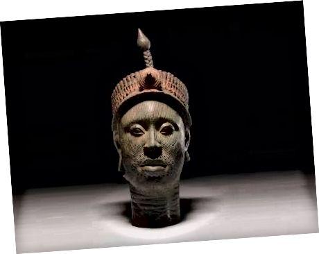 Ife bronzová hlava - wikipedia.org