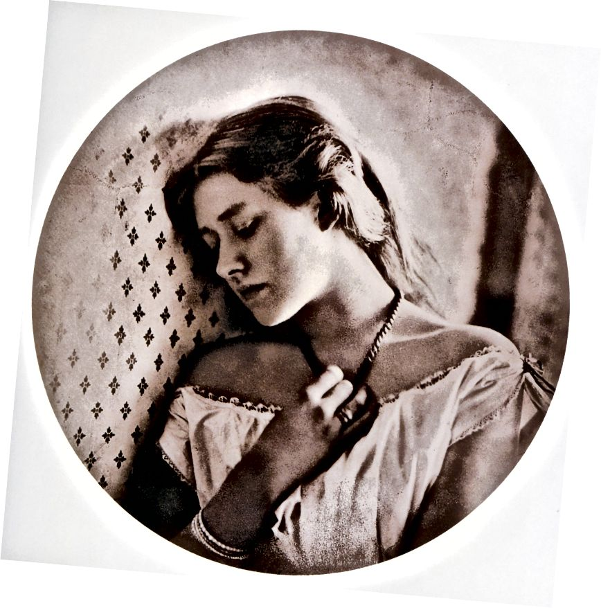 «Печаль», портрет Джулии Маргарет Кэмерон шекспировской актрисы Эллен Терри (Фото любезно предоставлено Викимедиа)