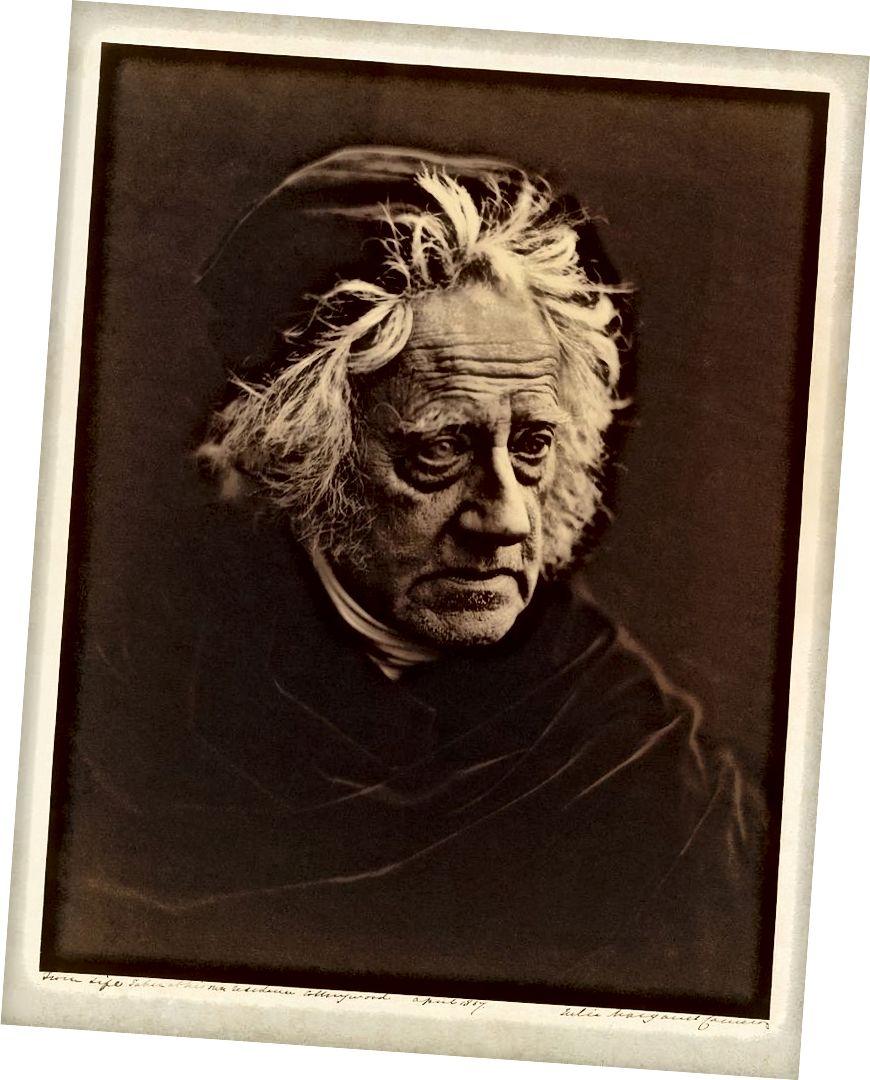 Портрет Кэмерона 1867 года ее фотографического наставника Джона Гершеля, также выдающегося ученого (Фото любезно предоставлено Викимедиа)