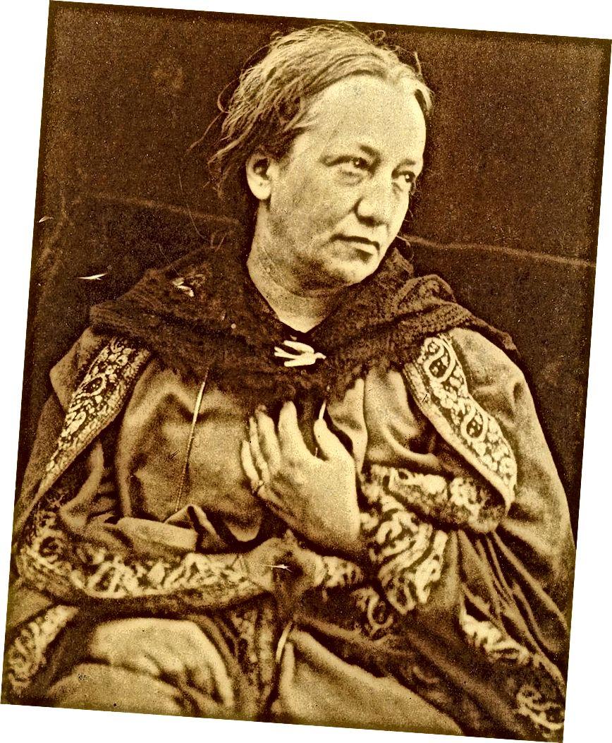 Портрет Джулии Маргарет Кэмерон в 1870 году ее младшего сына Генри Кэмерона (Фото любезно предоставлено Викимедиа)