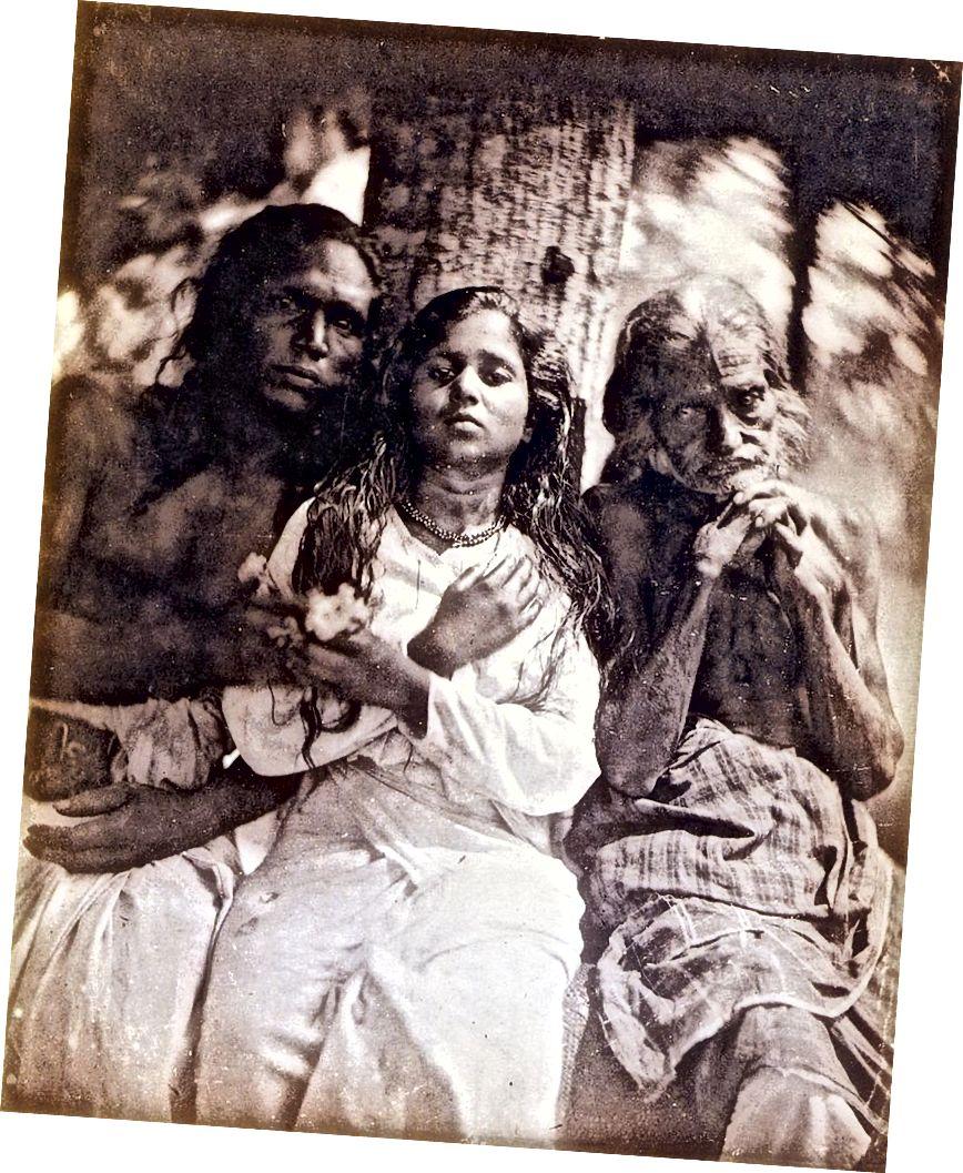 Кэмерон в 1875 году описал «группу калутарских крестьян» (Фото любезно предоставлено: PDR)