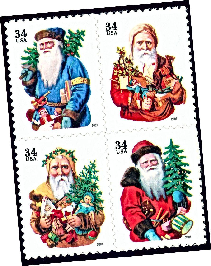 Bildnachweis: US Postal Service, 2001