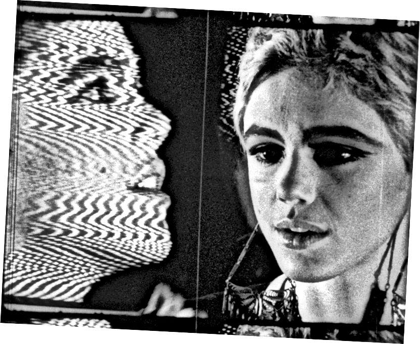 Edie Sedgwick a Warhol külső és belső térében (1966)