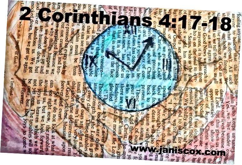En av de første bibelkunstene mine ble gjort i en sparsommelig butikkbibel