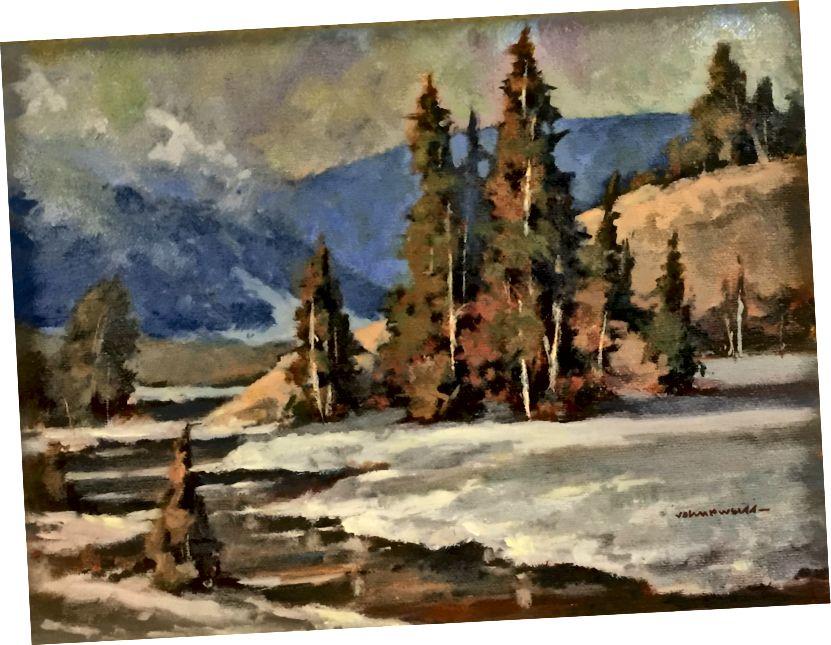 اللوحة بواسطة جون بي. وايس