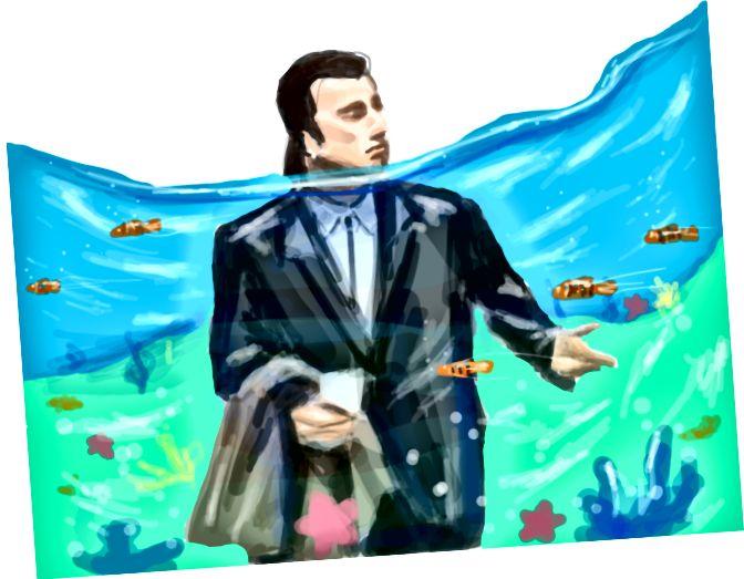 Lost Travolta- ն ՝ Բորիս Տոլեդո Դոուրմ-ին, dada.nyc- ում