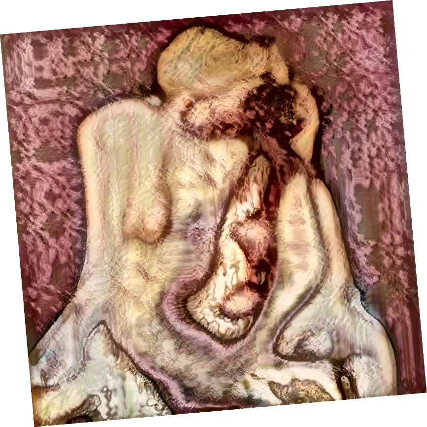AI Generated Nude դիմանկար # 5, Robbie Barrat, 2018