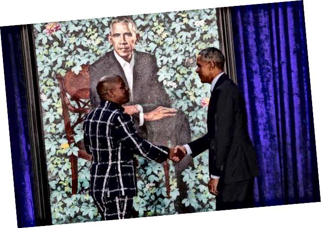 Kehinde Wiley und Barack Obama
