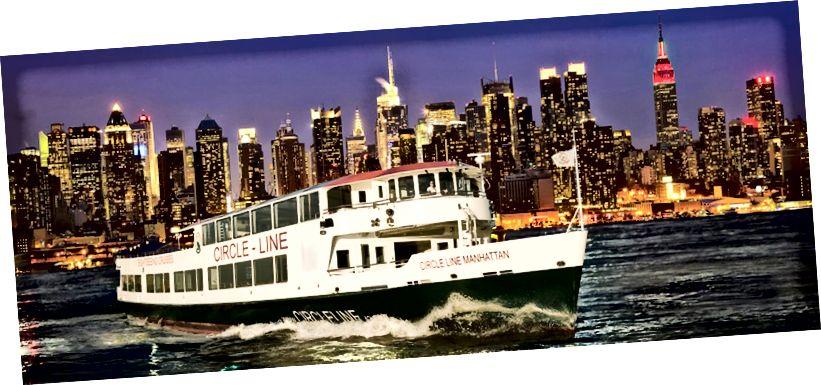 Circle Line Cruises'in görünüşü, New York