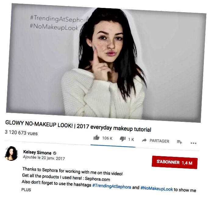 GLOWY NO-MAKEUP LOOK! | 2017 урок за ежедневен грим, 20/01/2017 (връзка)
