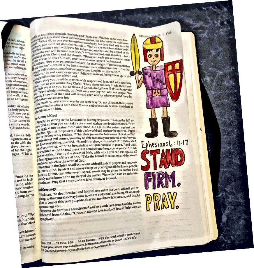 Աստվածաշնչային արվեստ ՝ isենիս Քոքսի