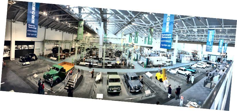 منظر بانورامي عبر أرضية التصنيع