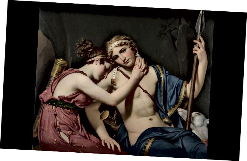 Telemachus və Eucharis'in vida