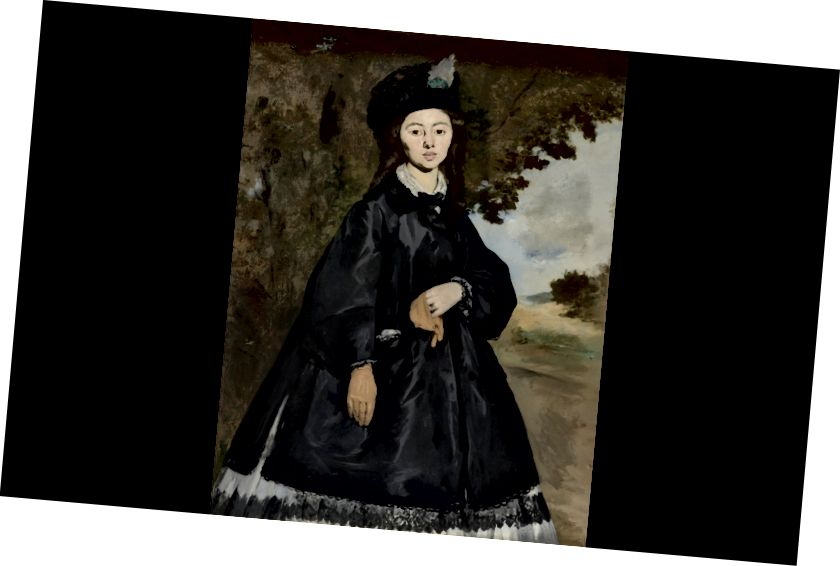 madame brunet fransız portreti