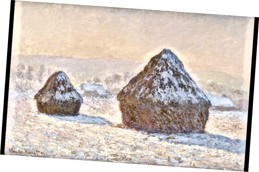 Qonşuların tarlasında buğda yığın