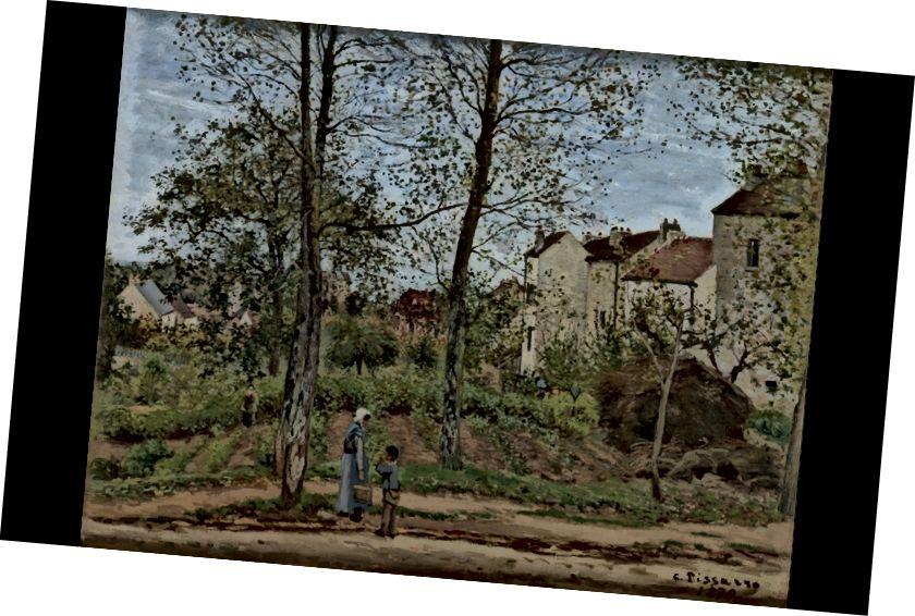 Louveciennesdəki mənzərə (Payız)
