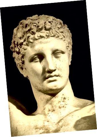 Praxiteles, Bildquelle: Archäologisches Museum von Olympia