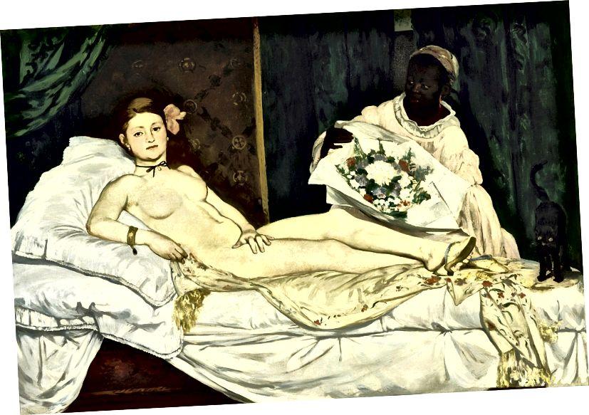 Olympia, Edouard Manet, 1865