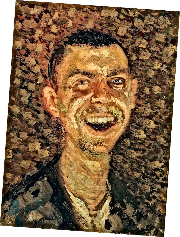 Գերսթլ, ինքնադիմանկար, ծիծաղում | Բարեգործություն Neue Galerie- ին