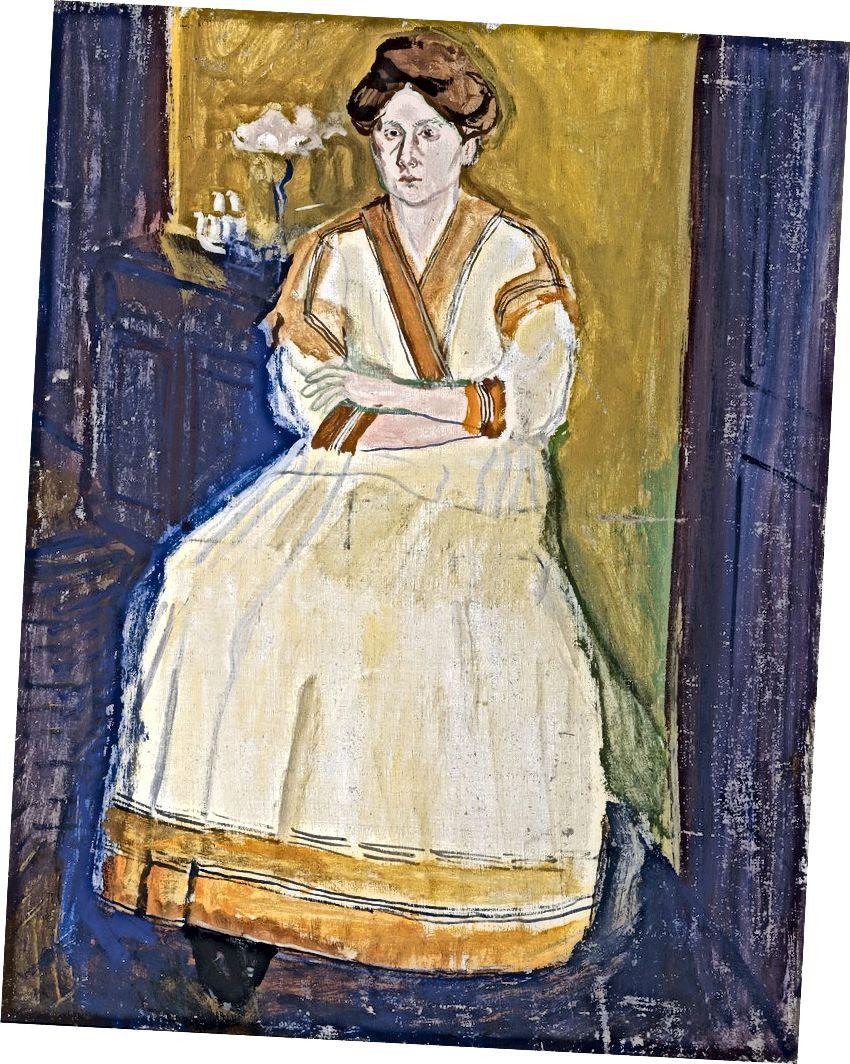 Richard Gerstl (1883–1908), Mathilde Schönberg, 1907 ամառ | Բելվեդերե, Վիեննա