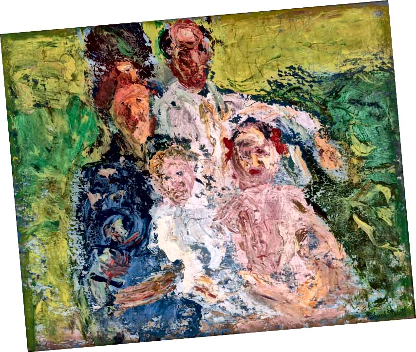Richard Gerstl (1883–1908), The Schönberg ընտանիքը, հուլիսի վերջին 1908 | Թանգարանի վարող Kunst Stiftung Ludwig Wien, Kamm ընտանիքի նվեր, Zug 1969