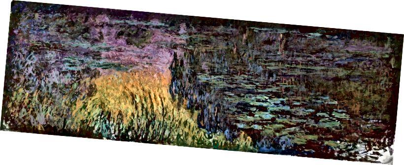 Клод Моне Водяные лилии Закат