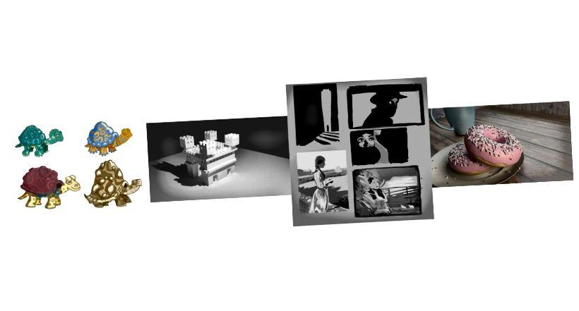 Panorama einiger verschiedener Methoden, die ich für digitale Kunst ausprobiert habe