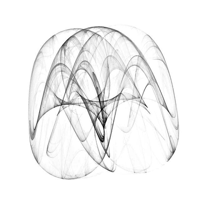 Beispiel für computergenerierte mathematische Kunst von Fyre