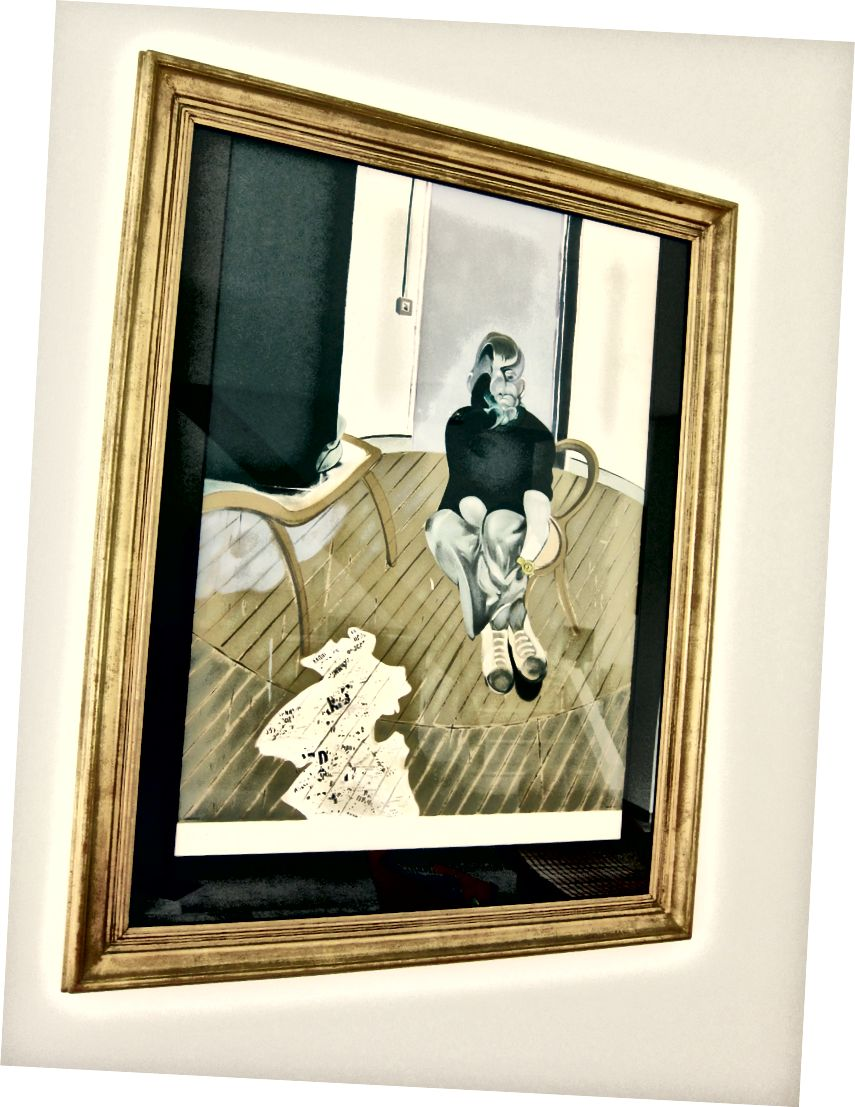 Автопортрет, 1973 - Фрэнсис Бэкон
